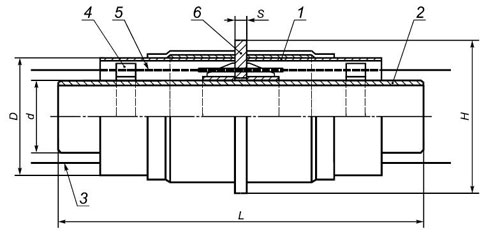 Схема и состав материалов