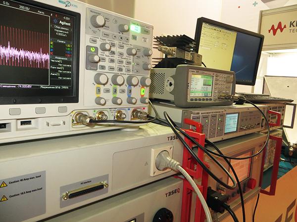 Диполь на выставке Testing&Control